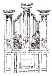 Thomas Parker English Pipe Organ of 1786