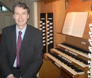 Jonathan Melling, organ, organist, director of music, All Hallows by the Tower, London