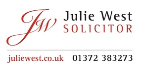 Julie West Solicitor logo, Leatherhead, 01372 383273, juliewest.co.uk,