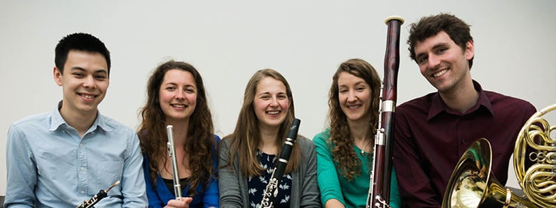Cavendish Winds, wind quintet, flute, oboe, clarinet, horn, bassoon,