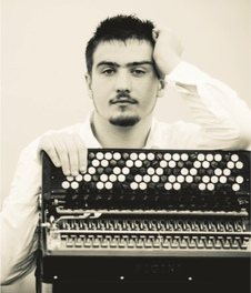 Bartosz Glowacki, accordion, Polish accordion player