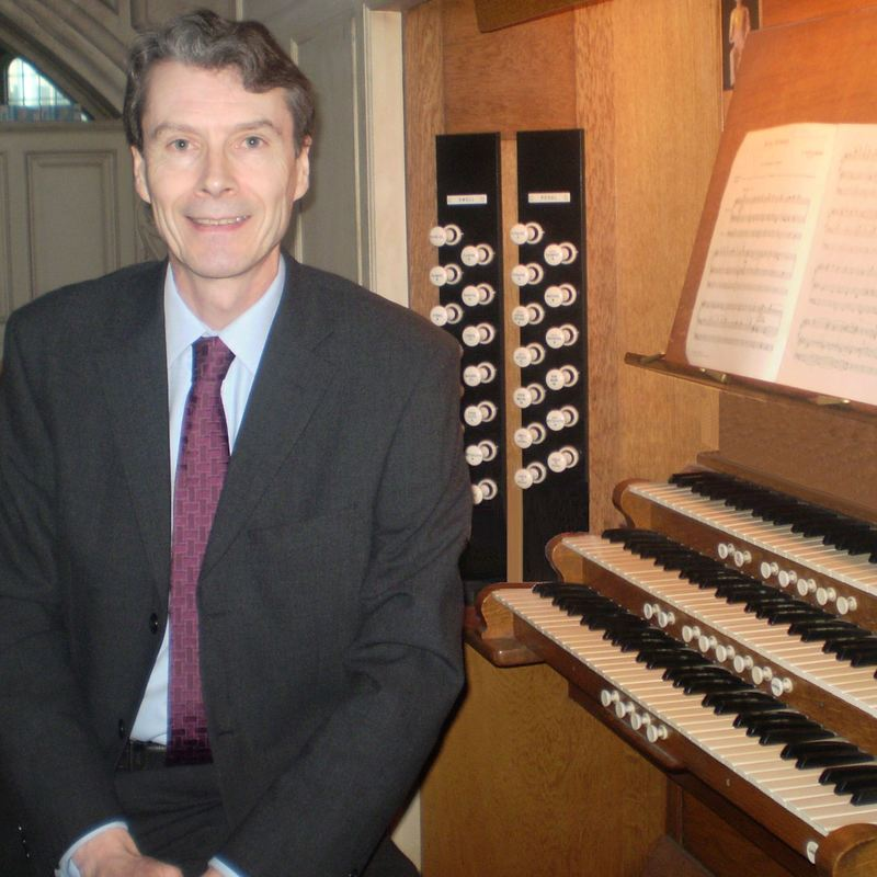 Jonathan Melling, Director of Music, organ, organist, All Hallows by the Tower, London EC