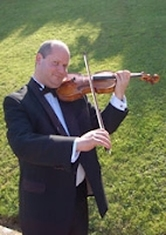 David Smith, violin, violinist, Brook Trio,