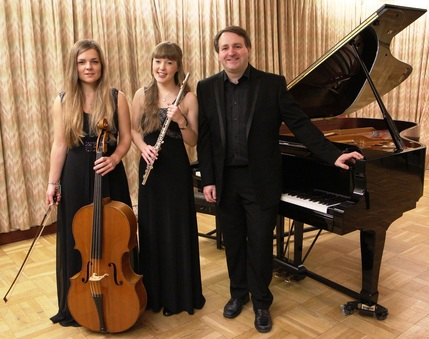Auriol Evans cello, Emma Halnan flute, Daniel King Smith piano
