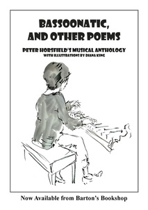 Bassoonatic and Other Poems, Peter Horsfield, poet, Diana King, artist, illustrator, Lynda Chang, pianist