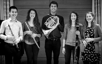 Cavendish Winds Quintet, flute, clarinet, oboe, bassoon, horn