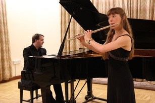 Emma Halnan, flute, flautist, flutist, Daniel King Smith, piano, pianist, accompanist