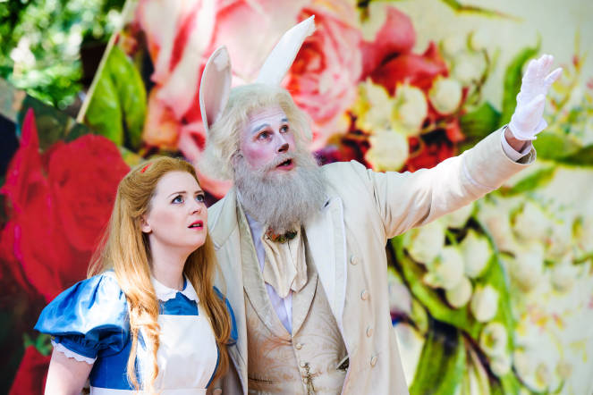 Alice's Adventures in Wonderland, Will Todd, Opera, London College of Music, 2017 production,