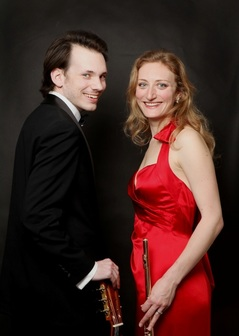 Andrews Massey Duo, Emily Andrews, flute, flutist, flautist, David Massey, classical guitar, guitarist,