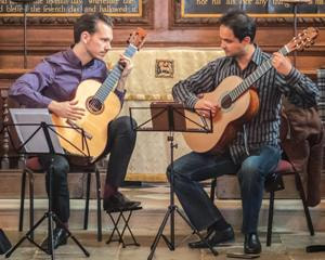 Francisco Correa, David Massey, classical guitar, duo,