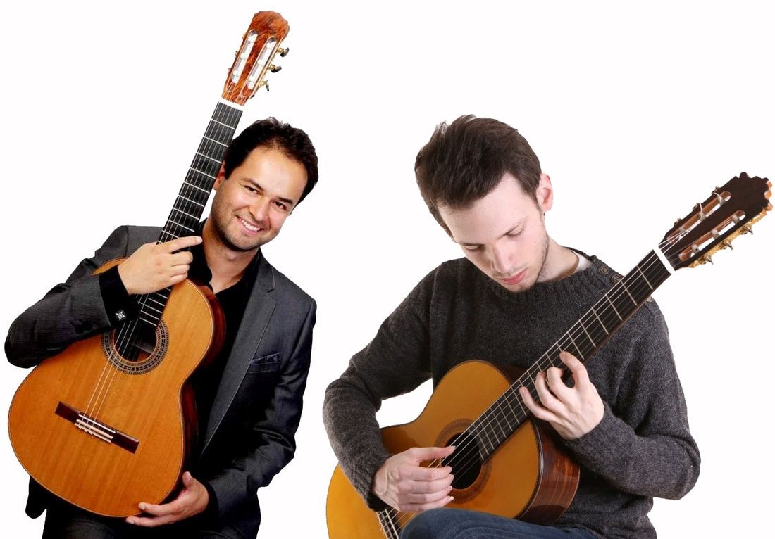 Francisco Correa, David Massey, guitar duo,