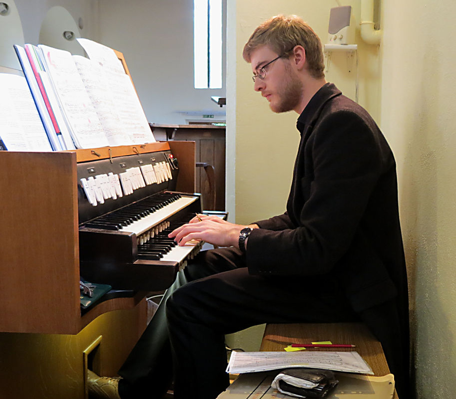 Graham Thorpe, organ, organist, Assistant Director of Music, St Michael's Cornhill, London EC,