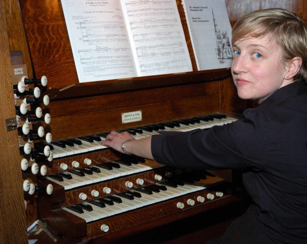 David Oldfield, organ,