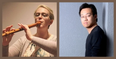 Juliet Evans, recorders, Thomas Ang, piano,