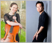 phots of Rachel Watson, cello and Thomas Ang, piano